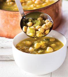 Lemony Chickpea Soup