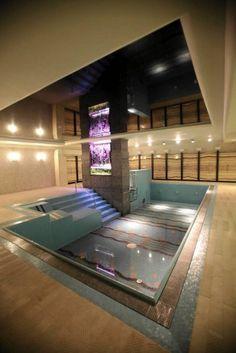 Underground swimming pool @ Foksal Residence