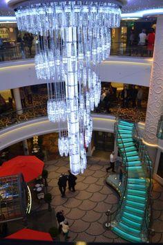 Atrium aboard the Norwegian Getaway (Norwegian Cruise Lines)