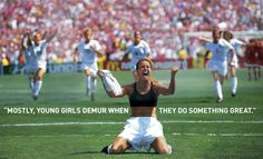 How The Most Iconic Photo In Women's Soccer Was Almost Never Taken