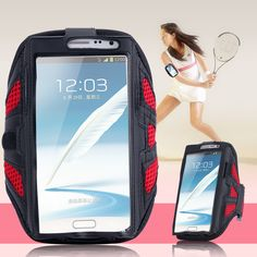 Note 5 4 3 2 Universal Net Breath Grid Running Arm Band Case For Samsung Galaxy Note 5 4 3 Sport GYM Cover Bag For Galaxy S6/S7