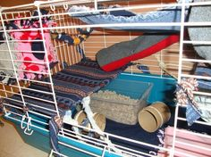 Simple and Easy Ways to Accessorize a Rat Cage. Really useful!