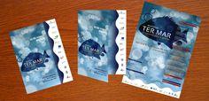Criamos os flyers e cartazes para a divulgação do Workshop TER MAR