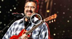 """Taking the stage during """"All For The Hall"""", some of country music's top performers give a legendary country singer. Country Singers, Country Music, Amy Grant, Vince Gill, Country Bands, U Tube, Memorial Gifts, Singing, Memories"""