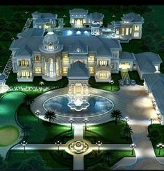 House Plans Mansion, Dream Mansion, Luxury House Plans, Luxury Homes Dream Houses, Classic House Exterior, Classic House Design, Dream Home Design, Mansion Interior, Dream House Interior
