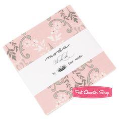 Ooh La La Charm Pack Bunny Hill Designs for Moda Fabrics - Fat Quarter Shop