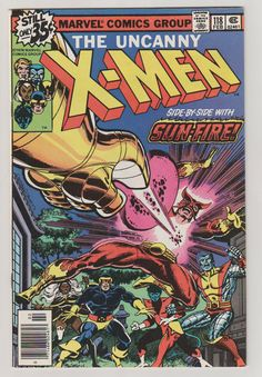 Uncanny X-Men V1 118.  NM. February 1979.  by RubbersuitStudios #xmen #wolverine #comicbooks