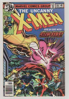 Uncanny X-Men V1 118.  NM. February 1979.  by RubbersuitStudios #xmen #wolverine #comicbooks