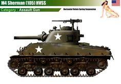 M4(105) Sherman HVSS