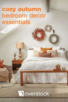 Whether you're readying a guest room or updating your master suite, decorating for fall is all about creating a comforting, welcoming space inspired by the beauty of the changing season. Let Overstock be your one stop shop for all things decor! Click to learn more.