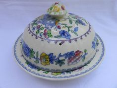 Masons REGENCY MUFFIN DISH  COVER 17cm x 10cm.
