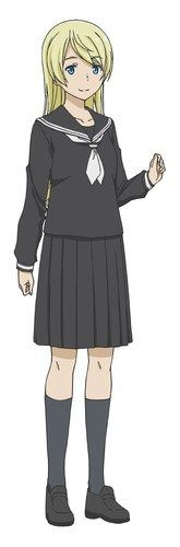 Anzu Shiina, A witch who lives nearby Kei and Chinatsu's house. While soft-spoken and somewhat reserved, she's an amateur archaeologist and has a love for history. She has a brown owl familiar named Aurore. Witch Manga, Soft Spoken, Flying Witch, Anime Characters, Fictional Characters, Anime Love, Personal Style, Cool Outfits, It Cast