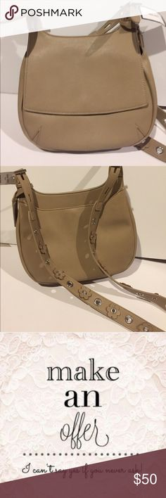 NWT Nine West Bag Brand new with tags. Never worn. Flowers on straps. Please feel free to ask questions. Make and offer! Nine West Bags Satchels