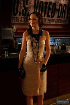 'Gossip Girl' Goes Flapper Chic - Blair Waldorf's Wardrobe Details