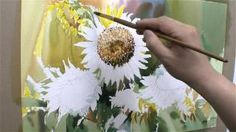 jongsik7527 - YouTube Watercolor Video, Watercolour Tutorials, Watercolor Flowers, Watercolor Paintings, Learn To Paint, Flower Tutorial, Botanical Art, Art Tutorials, Art Lessons