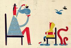 Catarina Sobral: 2014 Winner of the International Award for Illustration | MICA ILLUSTRATION