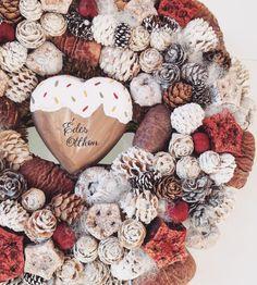 Home decoration for autumn and christmas / Otthon dekoráció őszi és téli ajtódísz
