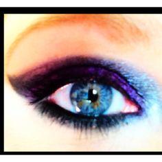 Pink black eye  Www.facebook.com/makeupbyrose