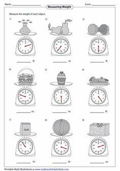 Measuring Kitchen Scale Measuring Weight Worksheets Easy to Hard . Measuring Kitchen Scale Measuring Weight Worksheets Easy to Hard Kg Worksheets, Measurement Worksheets, 3rd Grade Math Worksheets, Third Grade Math, School Worksheets, Elementary Math, Kindergarten Math, Teaching Math, Maths