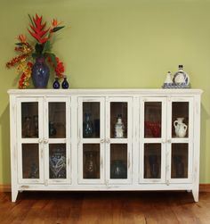900 Antique Console With 6 Doors By Home Reclaimed Wood Furniture Solid