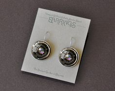 These little Camera Lens Earrings are so cute with a vintage camera lens image! What a great gift for anyone who loves photography! For me!