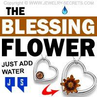 ►► THE BLESSING FLOWER PENDANT ►► Jewelry Secrets