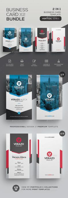 Business Card Bundle 49 - Corporate Business Cards
