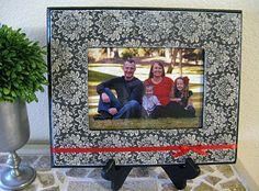 modge podge picture frame