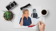 Teen Boy | Middle School Kids | European Boy | Busy Thinking