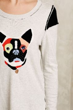 Frenchie Pullover #anthroregistry