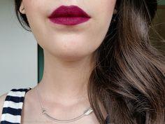 Lipstick For Fair Skin - lipstick tutorial Dark Matte Lipstick, Milani Lipstick, Lipstick For Fair Skin, Blue Lips, Lipstick Colors, Liquid Lipstick, Lip Colors, Lipsticks, Make Up