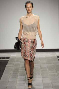 Reed Krakoff Spring 2013 Ready-to-Wear Fashion Show - Aymeline Valade