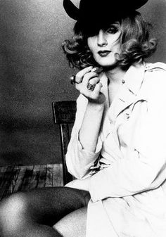 Candy Darling - Inspired Lola by The Kinks http://youtu.be/LemG0cvc4oU and Lou Reed's Walk on the Wild Side http://youtu.be/0KaWSOlASWc