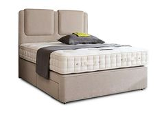 Hypnos Revive Deluxe Cotton Pocket Sprung Divan Set Blissfully comfortable upholstered divan bed with mattress Luxurious, tufted, turnable pocket sprung mattress British wool and deluxe cotton fillings, 1200 pocket springs (on 150cm) ]]> http://www.MightGet.com/january-2017-11/hypnos-revive-deluxe-cotton-pocket-sprung-divan-set.asp