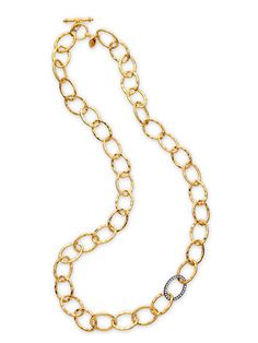 Long, luxe links have an easy, breezy vibe (28 inches; $129, Lulu Avenue Designs).