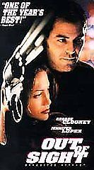 Out of Sight (VHS, 1999) George Clooney Jennifer Lopez drama movie