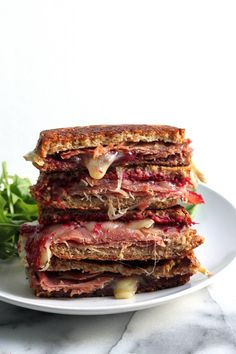 Prosciutto, Brie and Cranberry Jam Grilled Cheese