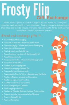 Fun idea for a white elephant gift exchange or other large group exchanges. This year, I've put together some great ideas for awkward white elephant gifts that are sure to be a big hit. Christmas Gift Exchange Games, Xmas Games, Holiday Games, Christmas Activities, Christmas Traditions, Holiday Fun, Holiday Ideas, Fun Gift Exchange Ideas, Office Christmas Party Games