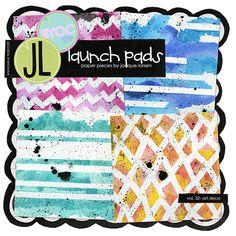 Launch Pads vol. 32 - Art Deco by Jacque