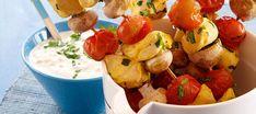 Broilerivartaat ja venäläinen dippikastike Potato Salad, Potatoes, Ethnic Recipes, Food, Eten, Potato, Meals, Diet