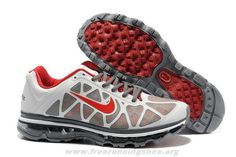 Cheap Nike Air Max 2011 White Grey Red Shoes Mens 429889-067 201