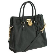 Michael Michael Kors Tote Large Hamilton Gold Hardware Hunter Green From MICHAEL Michael Kors - Bags or Shoes Shop
