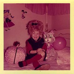 Not sure what I like best, the hair, the cat, or the doll.