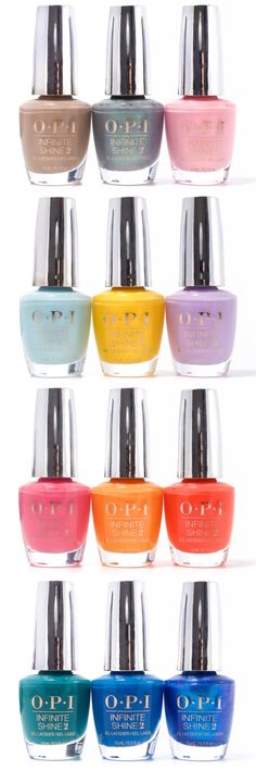 OPI Fiji Collection for Spring 2017
