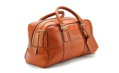 Saddle Leather Holdall - Small http://www.astonmartin.com/en/shop/luggage/leather/saddle-leather-holdall---small #AstonMartin #Luggage