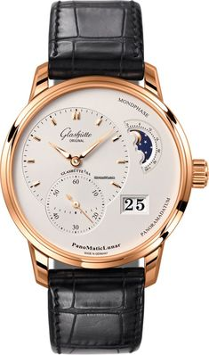 Discover a large selection of Glashütte Original PanoMaticLunar watches on - the worldwide marketplace for luxury watches. Compare all Glashütte Original PanoMaticLunar watches ✓ Buy safely & securely ✓ Men's Watches, Luxury Watches, Watches For Men, Analog Watches, Unique Watches, Popular Watches, Casual Watches, Wrist Watches, Double G