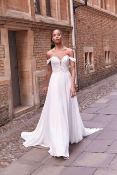 Adore by Justin Alexander Style 11189 Outdoor Wedding Dress, Perfect Wedding Dress, Dream Wedding Dresses, Boho Wedding Dress, Designer Wedding Dresses, Lace Wedding, Off Shoulder Wedding Dress, Allure Bridal, Wedding Dress Shopping