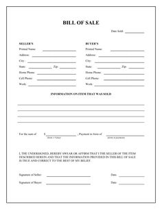 printable car bill of sale pdf bill of sale west texas atv