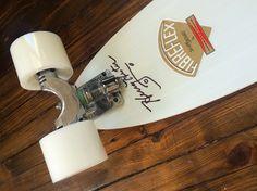 From my own collection (Chris Middleton): Signed G&S Fibreflex Henry Hester slalom deck (reissue); Skate Electric, Vintage Skateboards, Skate Decks, Skate Surf, Stone Age, Longboards, Deck Design, Snowboarding, Surfing