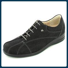 FinnComfort Ariano Größe 36.5 Schwarz (schwarz) - Schnürhalbschuhe für frauen (*Partner-Link)
